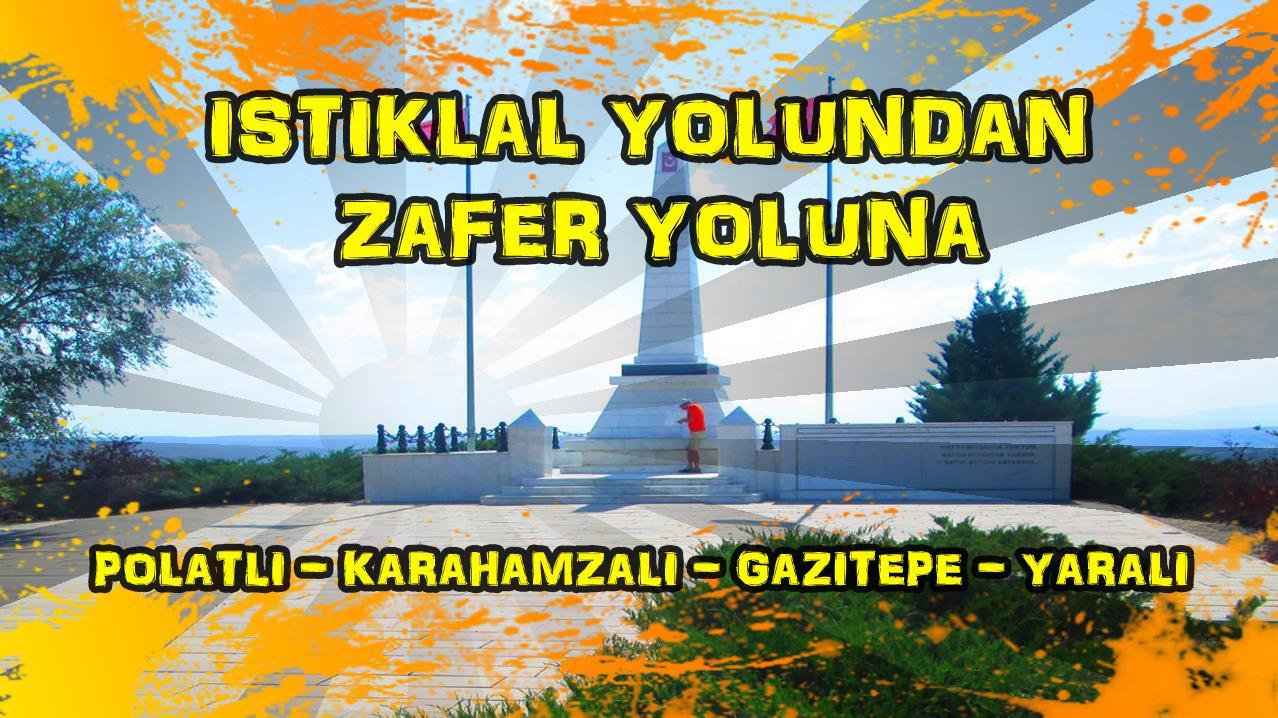 2018/07/02 - İstiklal yolundan Zafer yoluna (Polatlı - Karahamzalı - Yenimehmetli - Ilıca - İnler - Gazi Tepe - Yaralı)