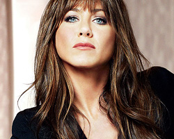 Jennifer Aniston Brown Hair Color Highlights