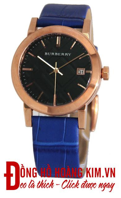 Đồng hồ nữ dây da giá rẻ dưới 2 triệu Burberry