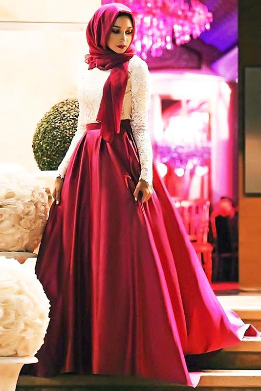 Koleksi Dan Hunting Model Hijab Terbaru Yang Trendy Dan Syar I Untuk Ke Pesta Wisuda Kebaya Casual Workout Dan Liburan Dzargon