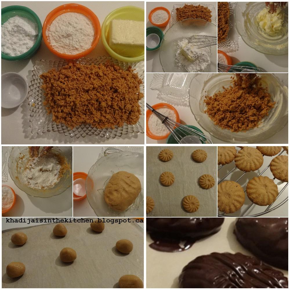 Batonnets Au Chocolat Et Aux Cacahuètes: Khadija Is In The Kitchen: BISCUITS AUX CACAHUÈTES ET AU