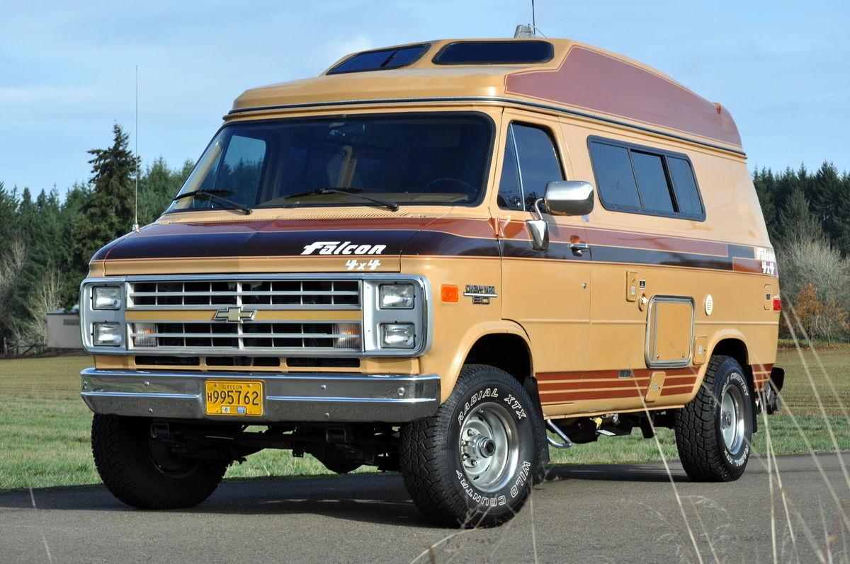 Daily Turismo: Go Anywhere Motorhome: 1989 Chevrolet G20 Falcon