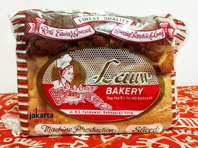 Roti Lauw, el mejor pan de molde en Yakarta