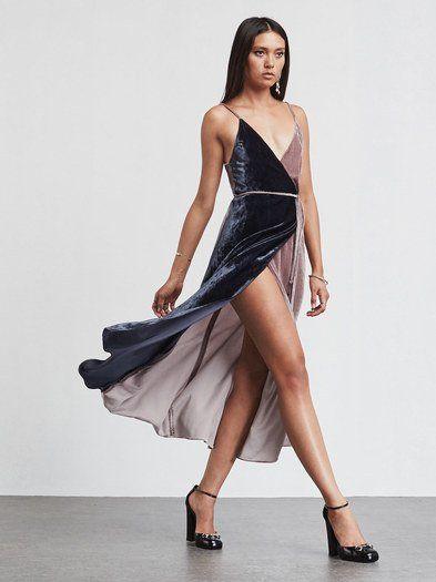 Midi-velvet-dress