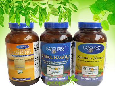 Bộ tảo mặt trời Spirulina giúp lợi sữa sau sinh