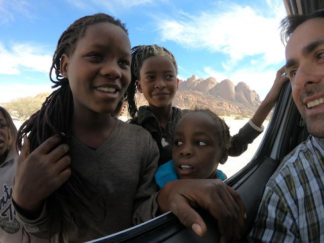 Namíbia com criança: roteiro