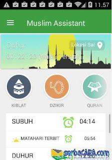 Aplikasi Muslim Assist: Kiblat Sholat