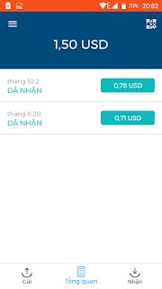 Kiếm tiền BTC Online trên điện thoại