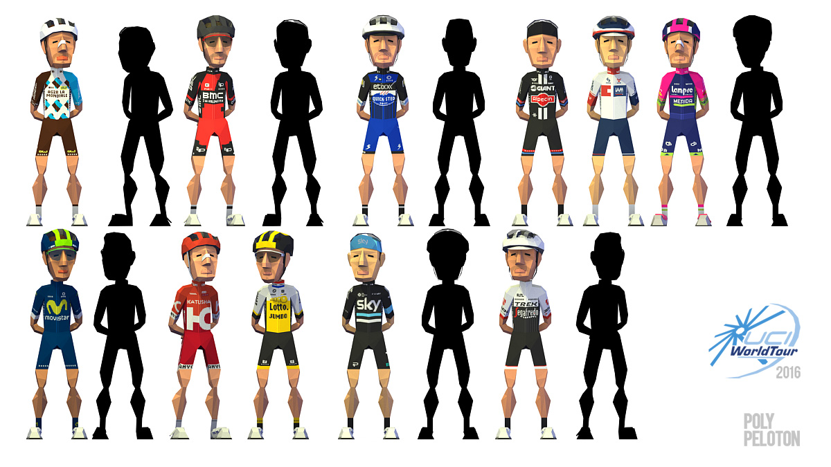 0aad719f1 Poly Peloton  WIP   UCI WorldTour - 2016 kits (latest)
