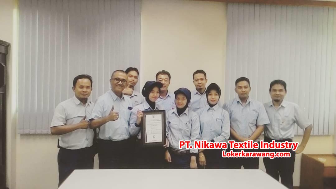 Lowongan Kerja PT. Nikawa Textile Industry (PT. Nikawatex) Karawang