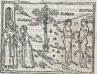 O CONTO DE ALIBECH E FREI RÚSTICO -  Conto Humorístico de  Giovanni Boccaccio