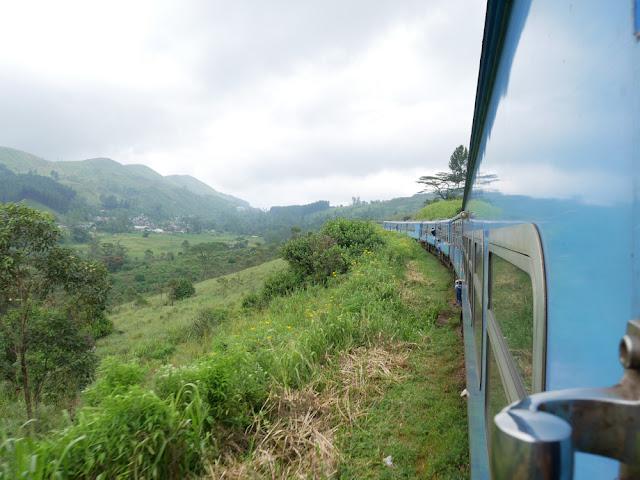 The train journey views between Kandy and Ella - Sri Lanka