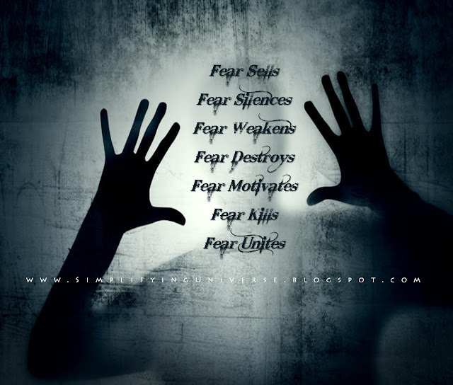 Manas Madrecha, Manas Madrecha blog, simplifying universe, self-help blog, teenage blog, fear, fear quotes, fear story, motivational story, inspirational story, scary story, dark background, scary background, two hands, man behind glass