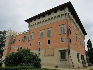 The Villa Salviati, just outside Florence, was Mario's  home for more than 20 years