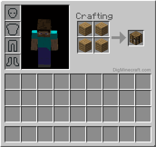 Remote islands and stuff - Minecraft crafting table recipes list ...