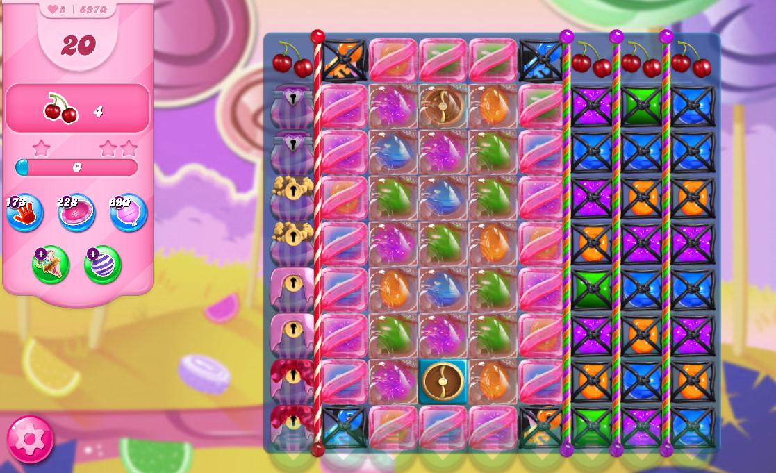 Candy Crush Saga level 6970