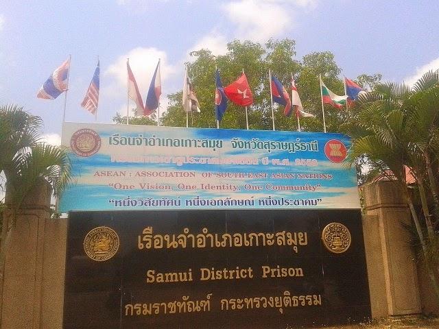 30 farang in Koh Samui Prison