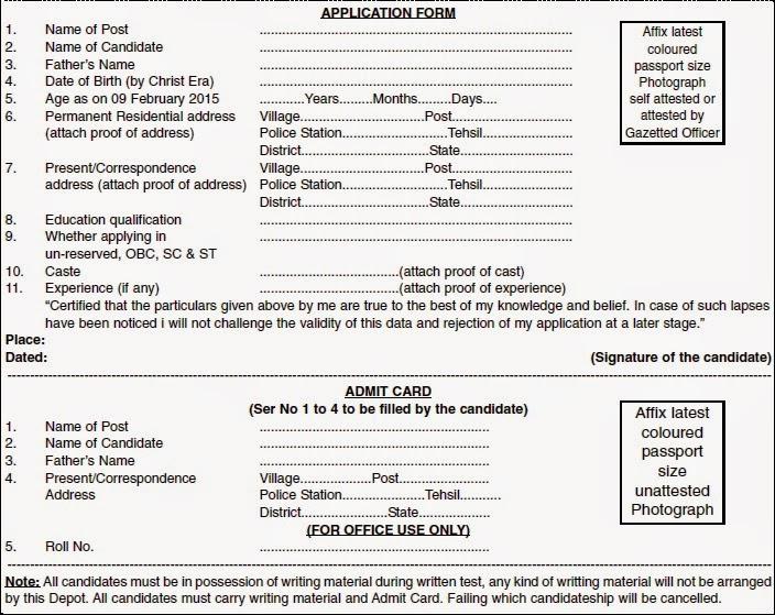 RTS and Depot Hempur Recruitment