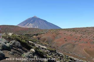 Vulkan auf Teneriffa: Foto von unabhängiger Stampin' Up! Demonstratorin Susanne McDonald