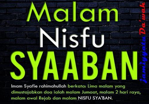 Bacaan Niat Puasa Dan Doa Malam Nisfu Sya'ban Paling Lengkap