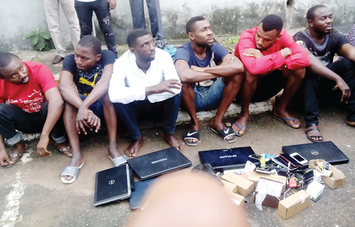 Lagos fraudster arrested after running to police to report friend who duped him of money he conned from American