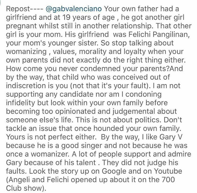 Open letter for Gab Valenciano