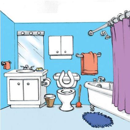 Muebles para la sala: Cuarto de baño en ingles