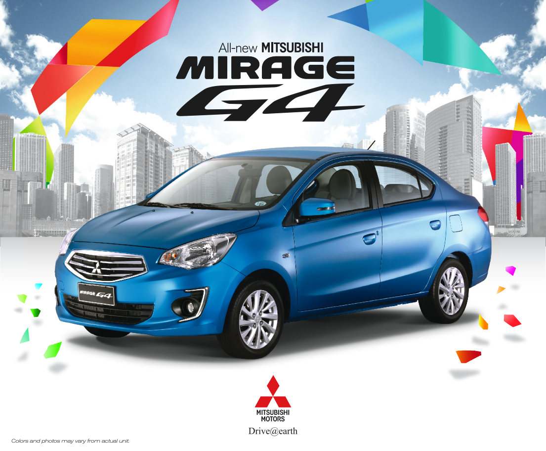 Mitsubishi Motors Philippines Unveils All New Mirage G4 W