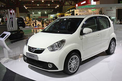 Passo/Boon + Perodua = Myvi + Indonesia = Sirion ~ Andra