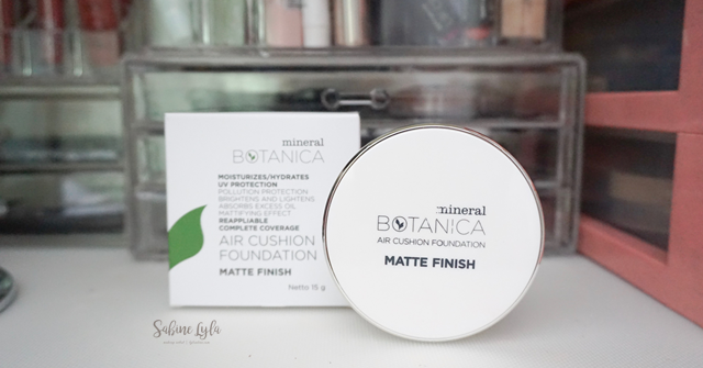 Beauty And Lifestyle Mineral Botanica Air Cushion Matte Finish