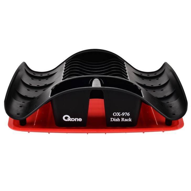OX-976 Oxone Rak Piring Plastik - Merah