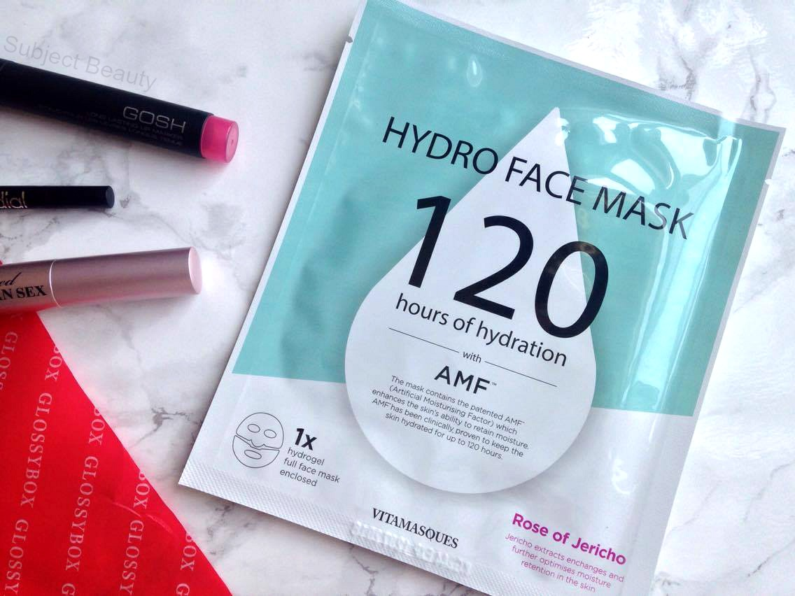 hydro face mask 120