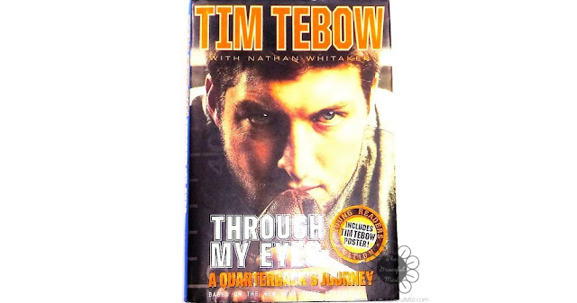 """""""Through My Eyes"""" by Tim Tebow with Nathan Whitaker (Book Review at www.TheGracefulMist.com)"""