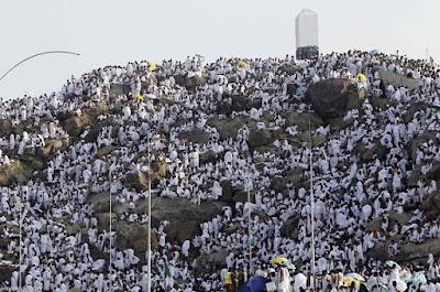 Doa Rasûlullâh pada hari arafah