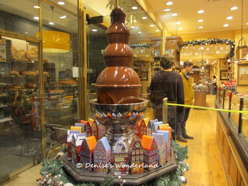 Belgian Chocolate Fountain