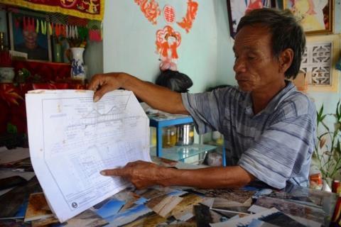 Ông Phạm Tấn Lực suốt 4 năm độc lập giám sát quá trình thi công