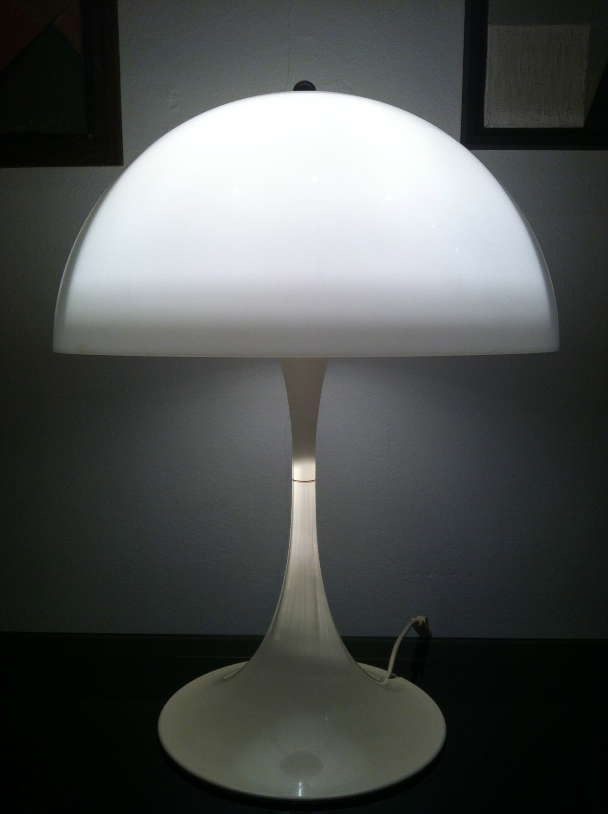 obliqdesign: What's new with Obliq ? Panthella floor lamp