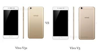 Vivo V5s vs Vivo V5 : what's different?