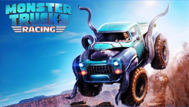 Download Monster Trucks Racing MOD Apk+Data v2.1.0 Terbaru