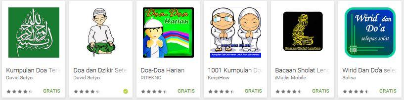 aplikasi Kumpulan Doa android