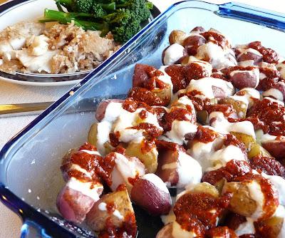 Roasted Potatoes in the Style of Turkish Dumplings