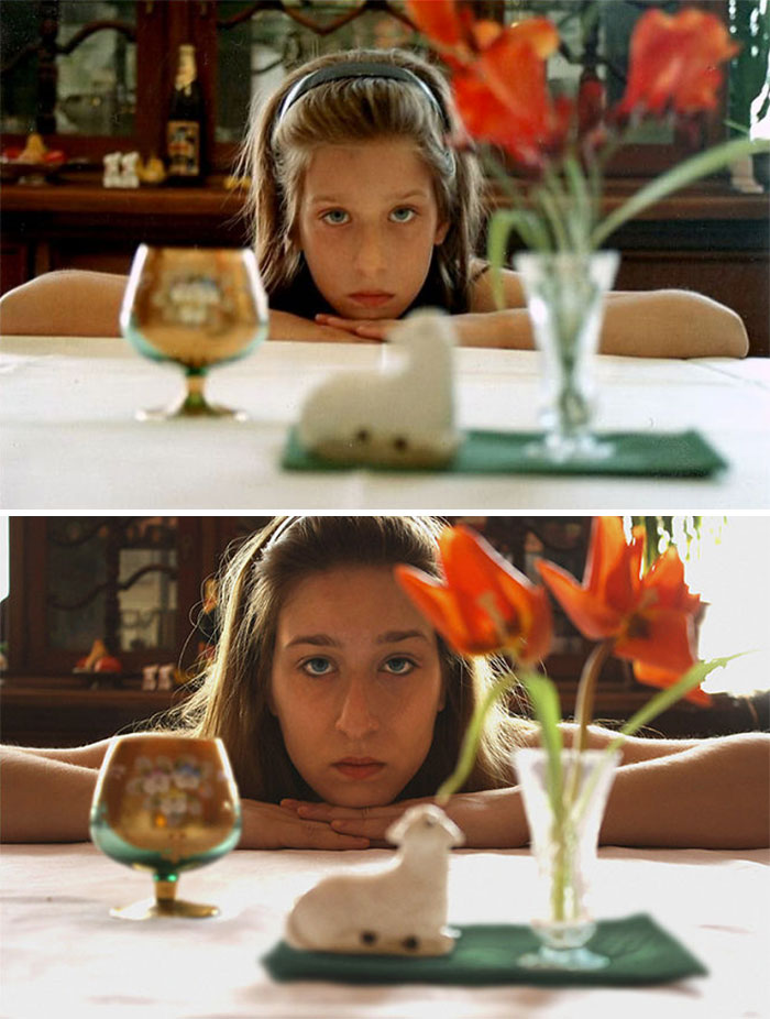 30 Beautiful Recreations Of Childhood Pictures - Fifteen Years Apart