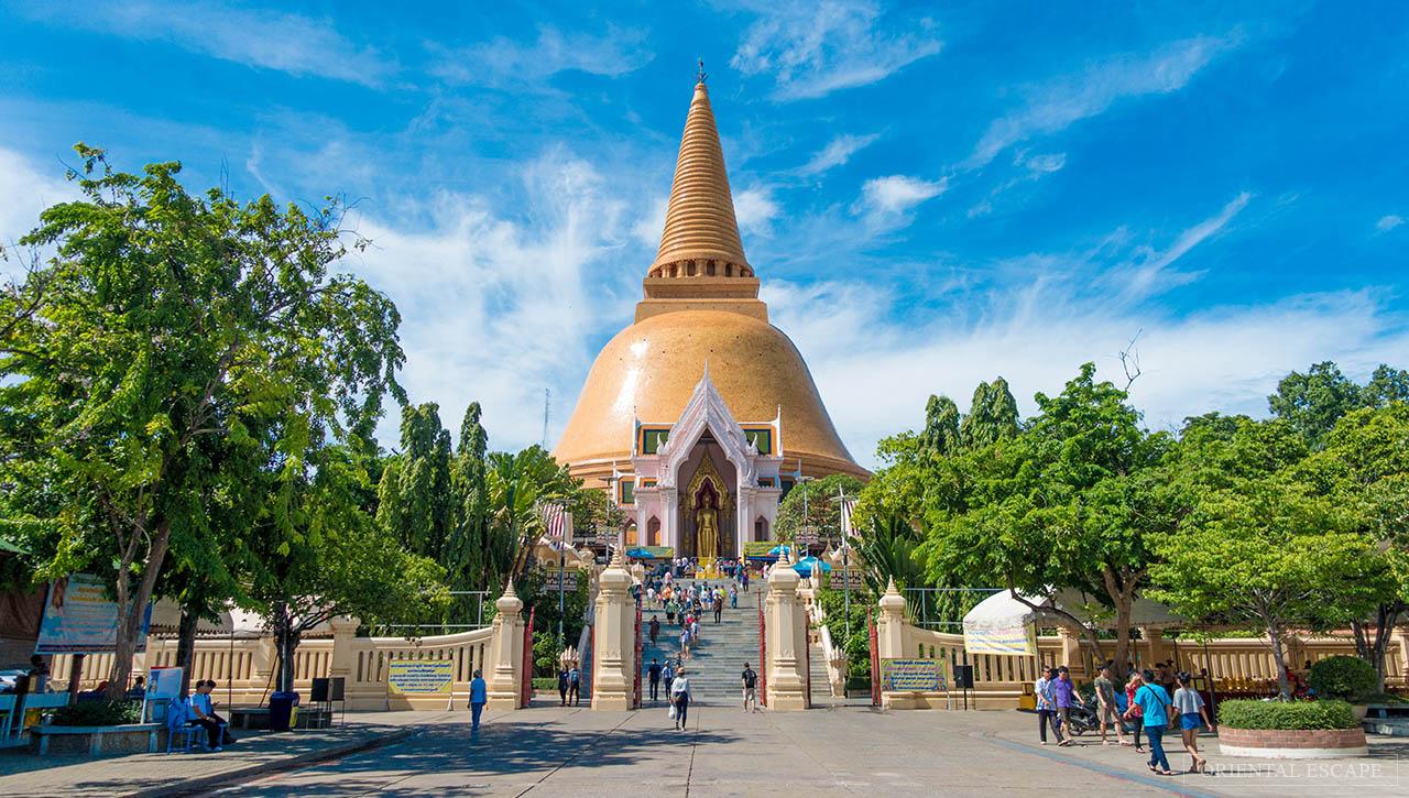 [Chia sẻ] Khám phá du lịch WAT PHRA PATHOM CHEDI RACHA WORAWIHAN, Nakhon Pathom, Thái Lan