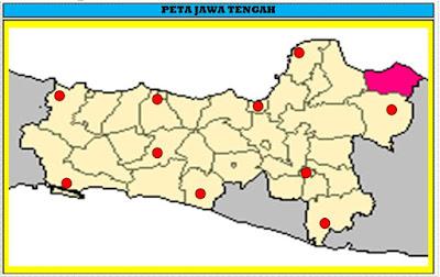 PETE BUTA PROVINSI JAWA TENGAH