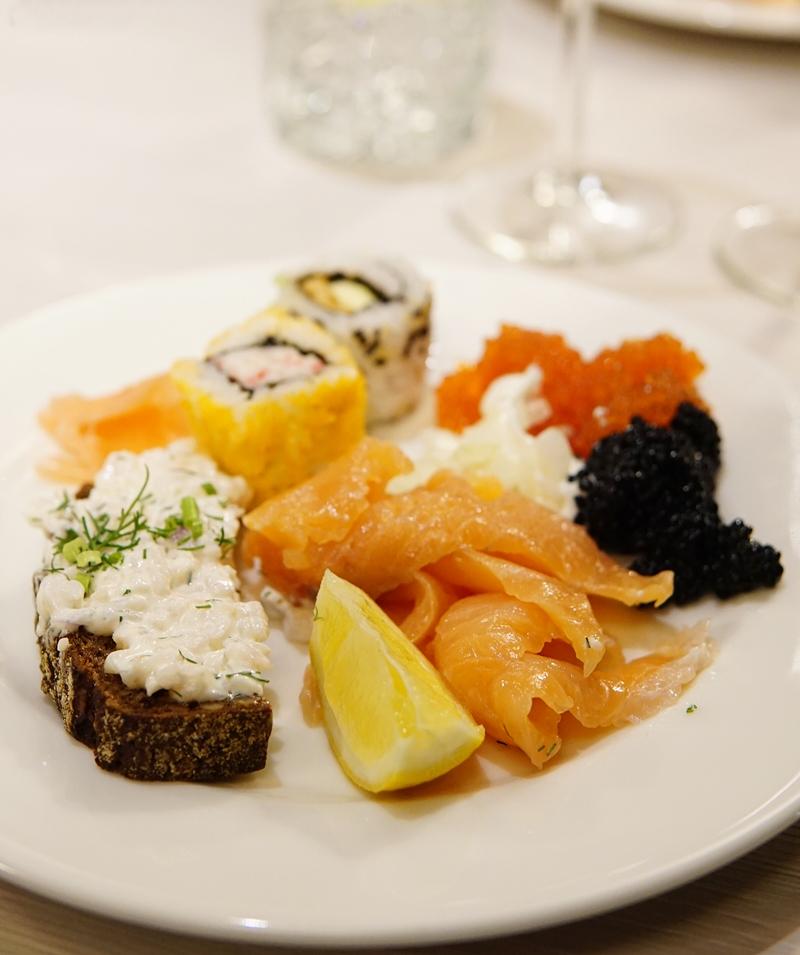 ravintola, buffet, laiva
