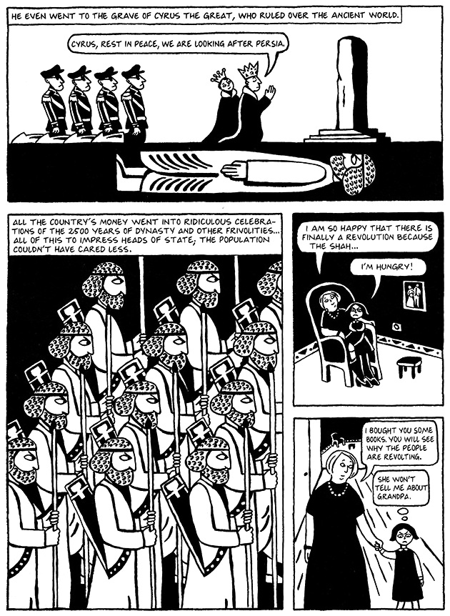 Read Chapter 4 - Persepolis, page 26, from Marjane Satrapi's Persepolis 1 - The Story of a Childhood