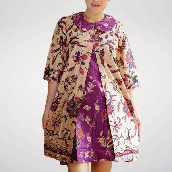 Model Baju Batik Modern Untuk Kerja Wanita: Model Baju Batik Kantor