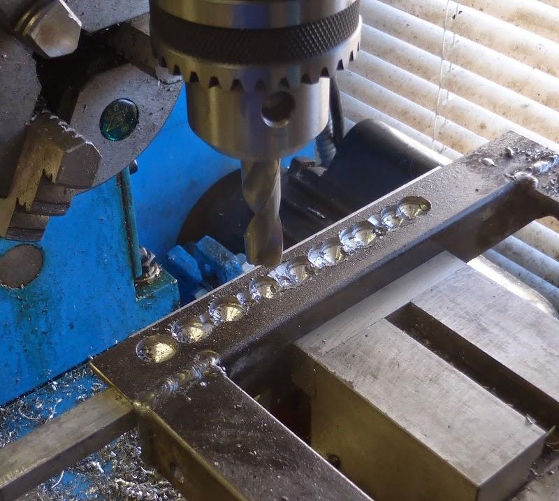 drilling rails