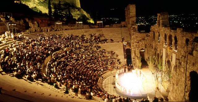 Teatro de Herodes, Atenas