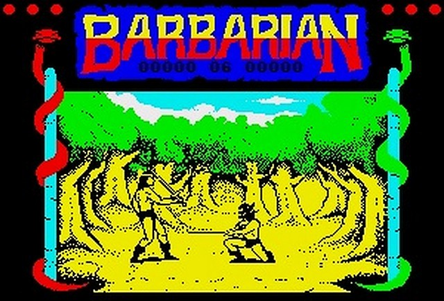 Indie Retro News: Barbarian - ZX Spectrum head chopping classic gets